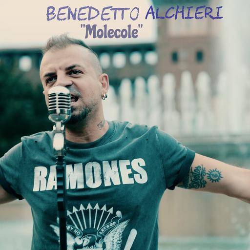 Cover di Molecole by Benedetto Alchieri