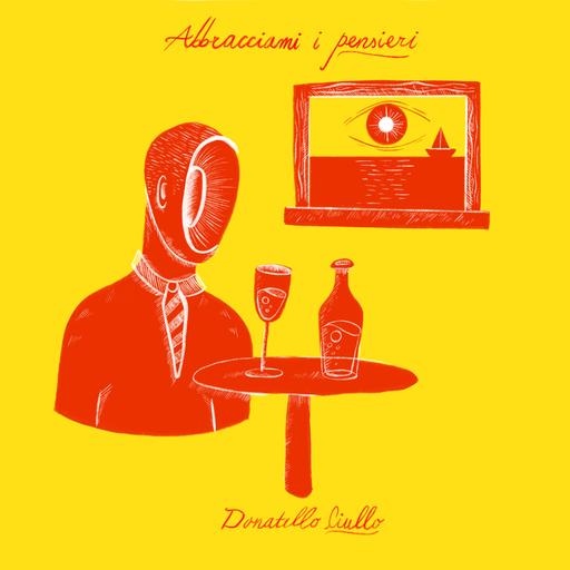 Cover di Abbracciami I Pensieri by Donatello Ciullo