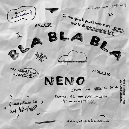 Cover di Bla Bla Bla by Neno