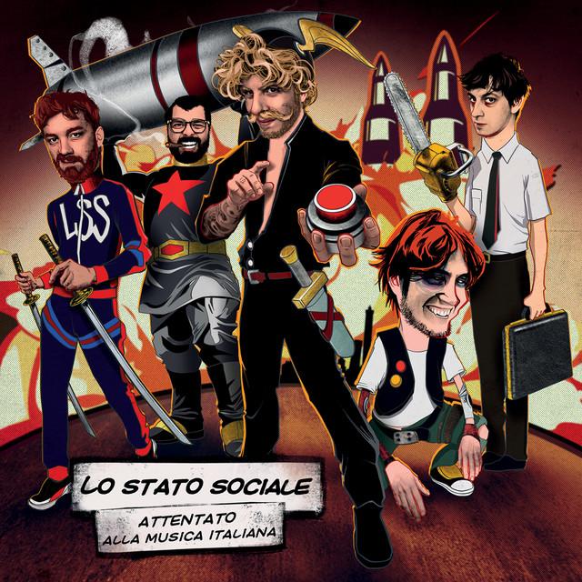 Cover di Combat pop by Lo Stato Sociale